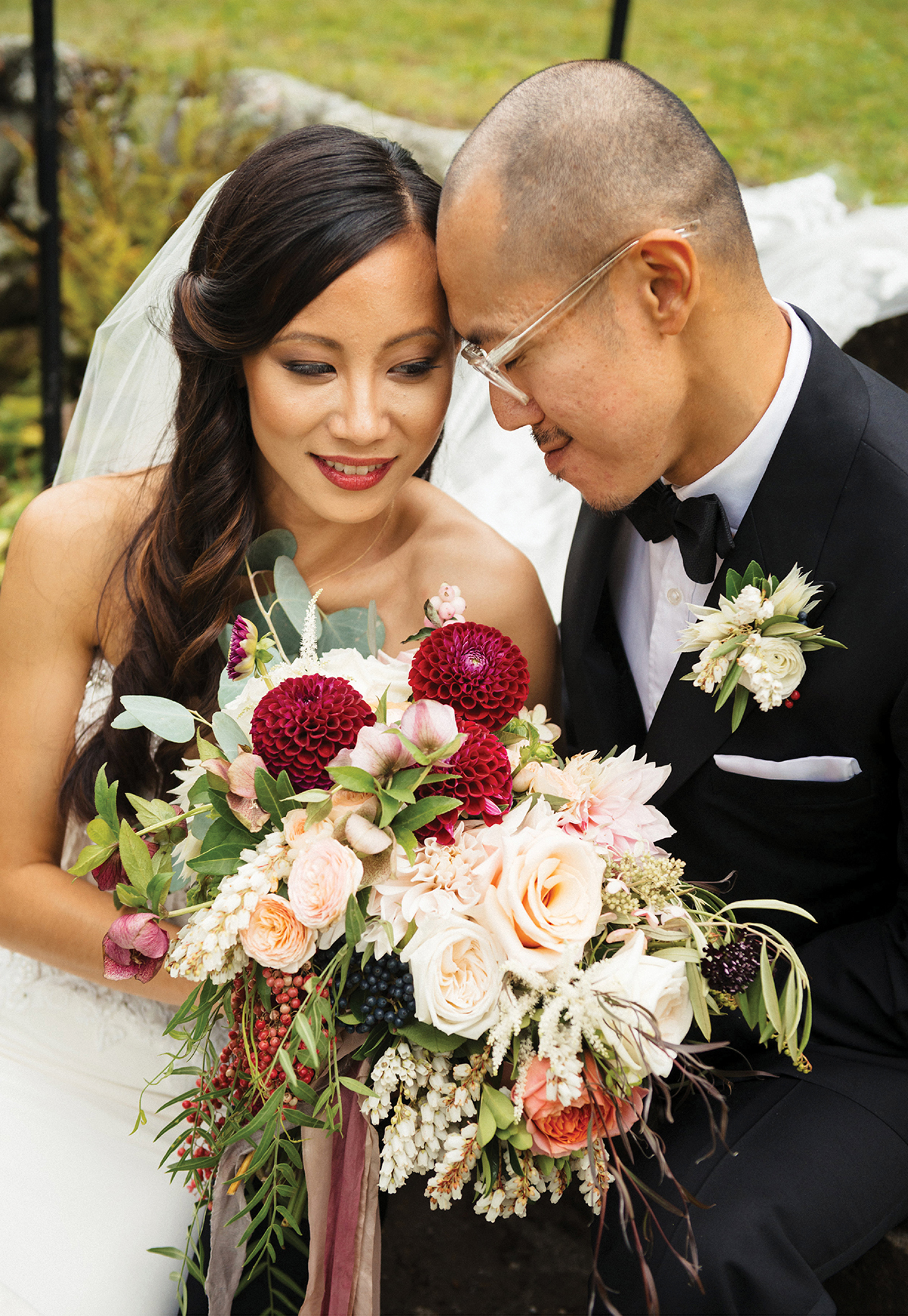 Real Wedding Chhay Chhun Amp Li Ouyang Boston Magazine