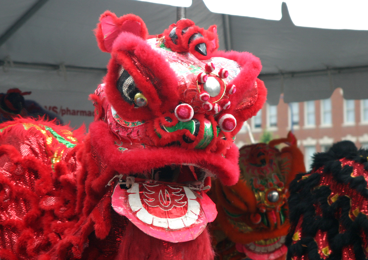 chinatown main street festival lion dance; free things to do in boston july