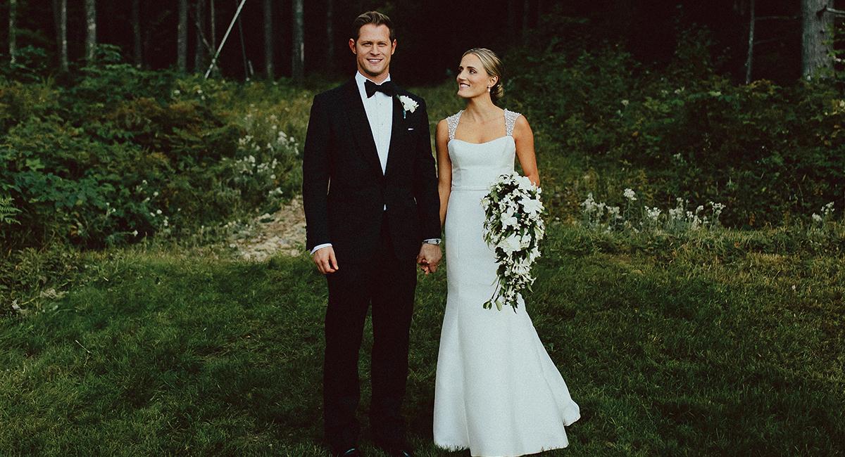 Ethan Feuer Hillary Rader Real Wedding Sm