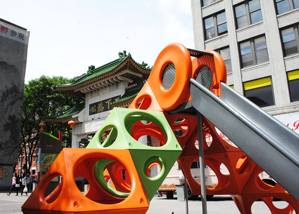PlayCubes in Chinatown / Photo by Madeline Bilis