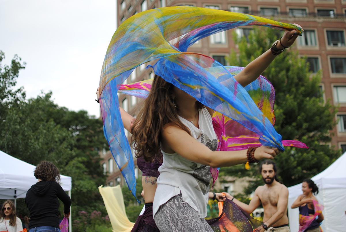 figment boston scarf dancers