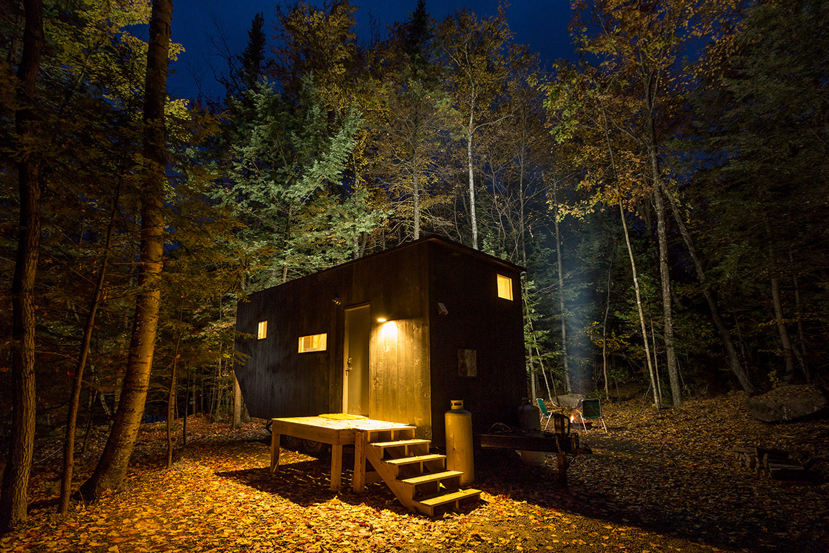 Care To Rent A Tiny House In The Woods Boston Magazine