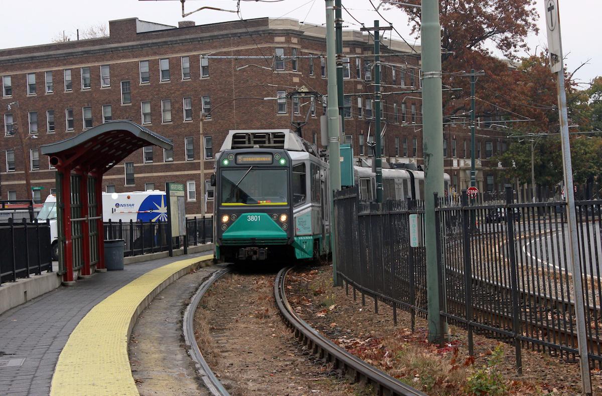 MBTA green line / Photo by Olga Khvan