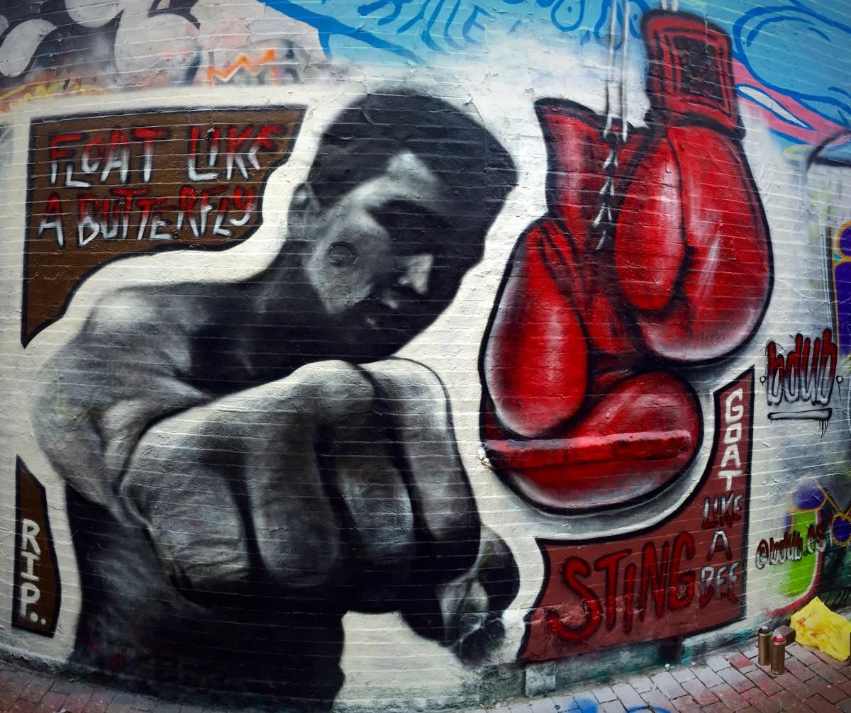 Muhammad Ali Mural
