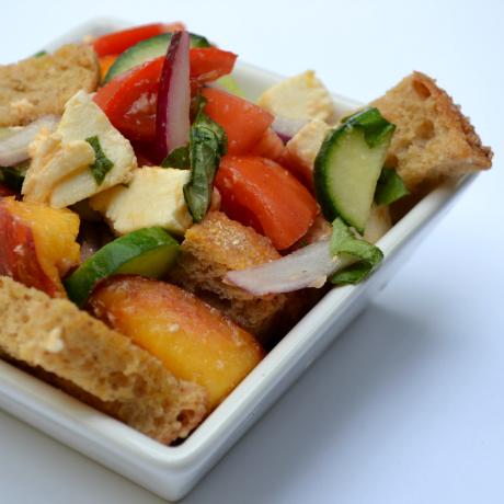 panzanella salad square
