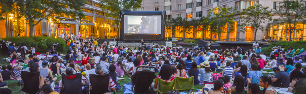prudential center family film festival; free things to do in boston july