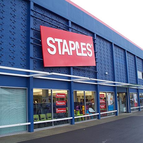 Staples storefront / Photo via Wikimedia Commons