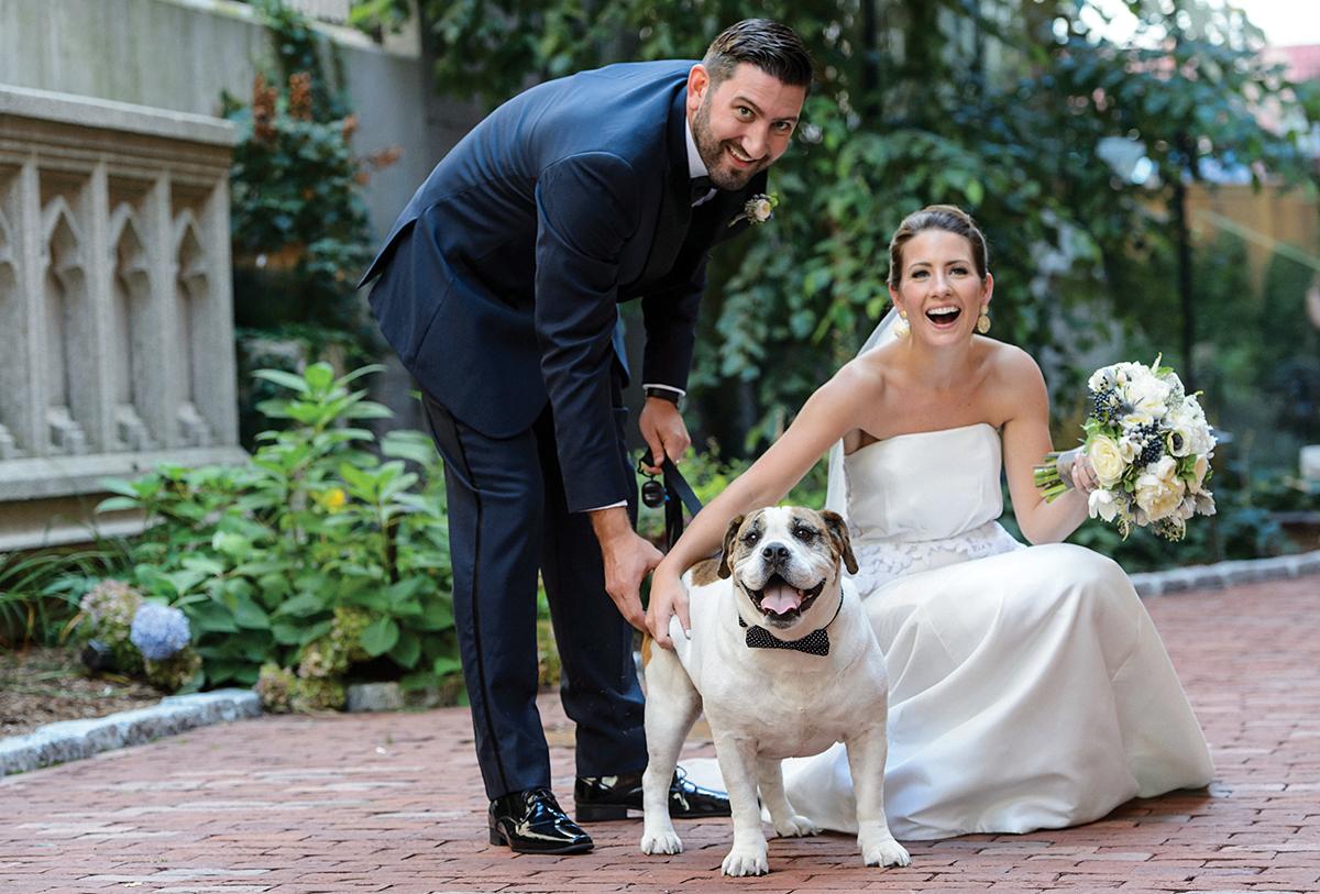 ted hughes caroline brodette real wedding