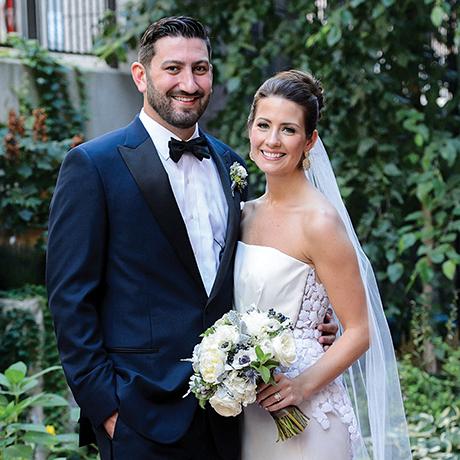 ted hughes caroline brodette real wedding sq