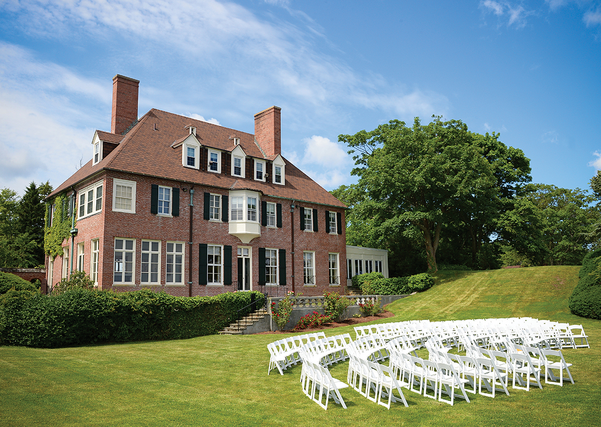 Wedding venues in the north shore boston magazine for Outdoor wedding venues ma