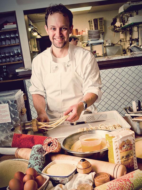 Chef Michael Pagliarini at Giulia