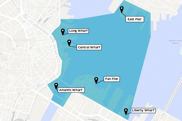 Map via Uber