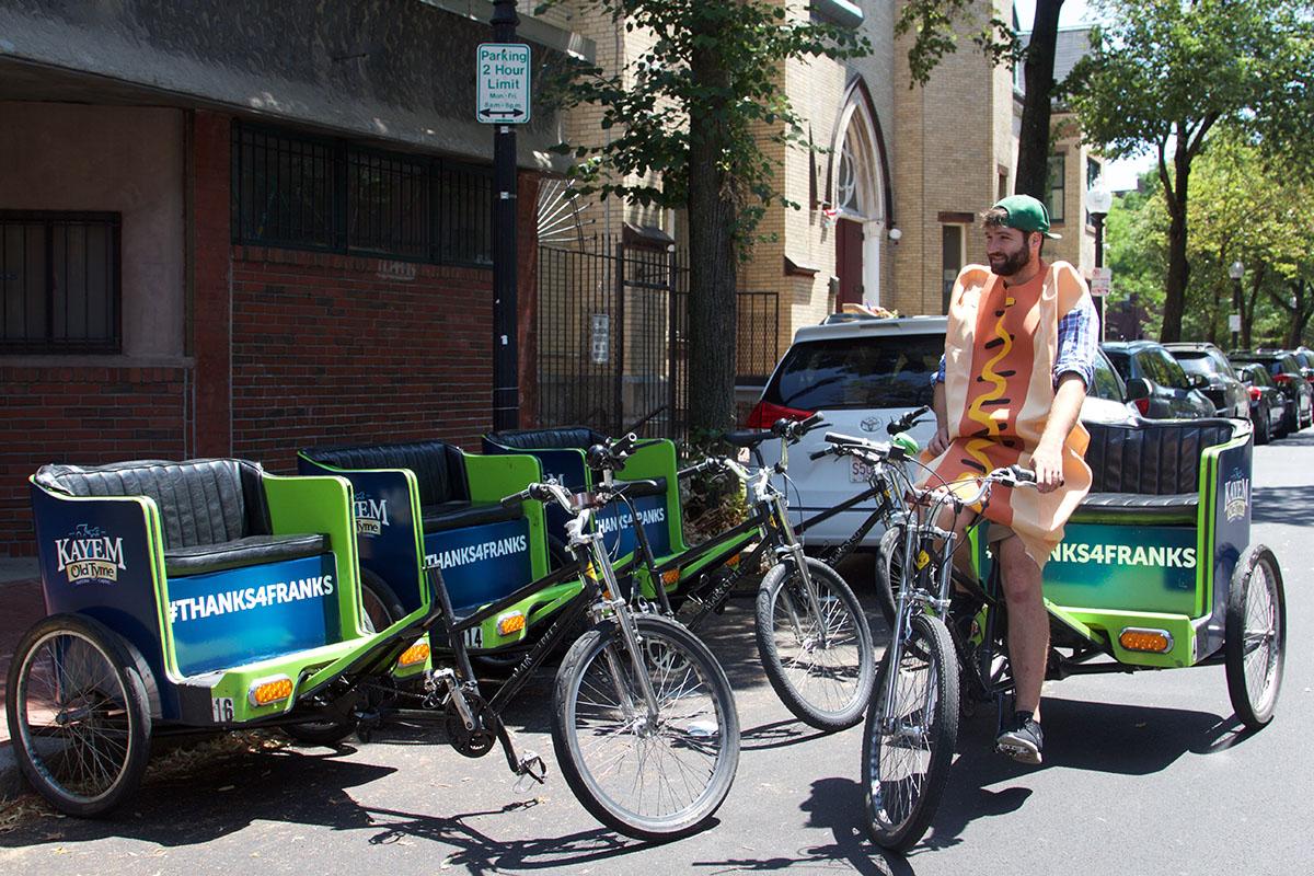 Kayem pedicab