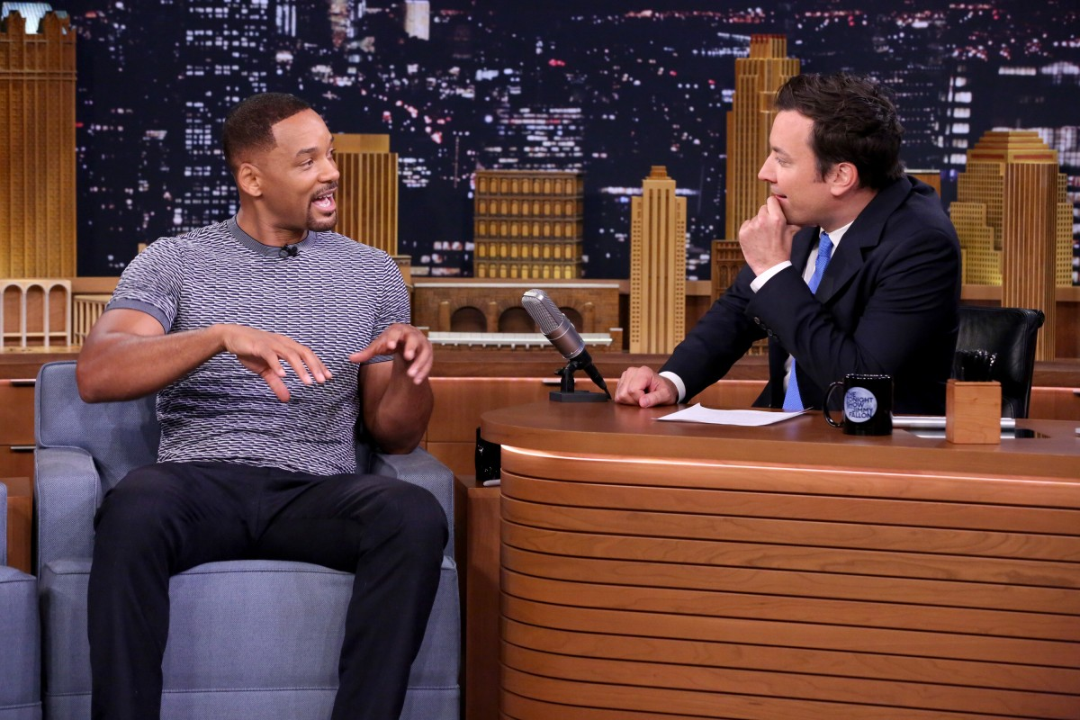 Will Smith on 'The Tonight Show Starring Jimmy Fallon'