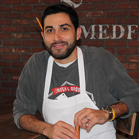 Nosh & Grog Provisions chef Joshua Bottini