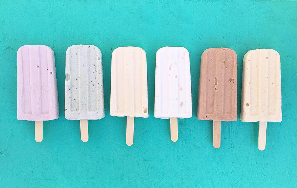 Dairy-free popsicles from Scoop Sights