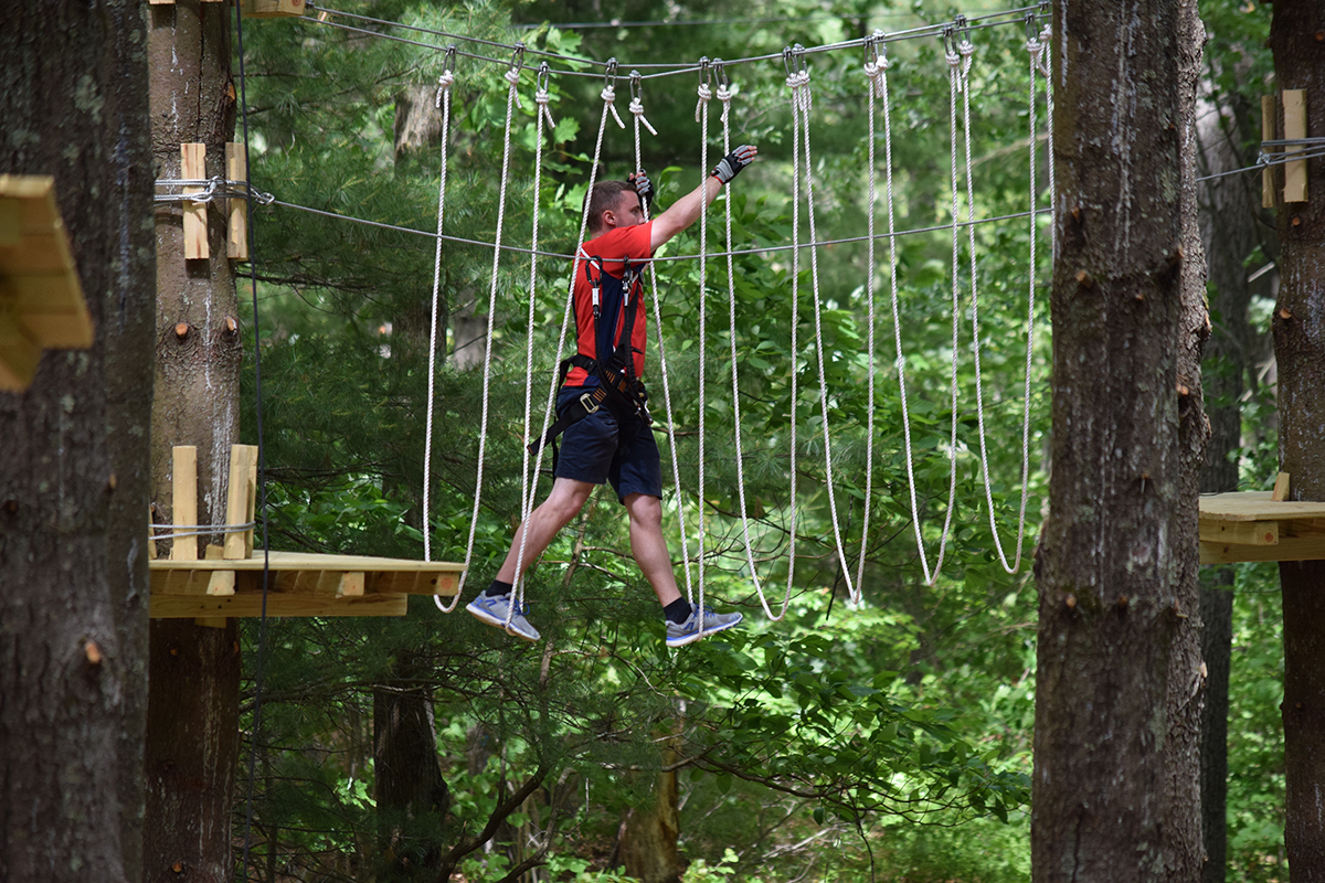 A New Aerial Adventure Park Is Open In Canton Boston