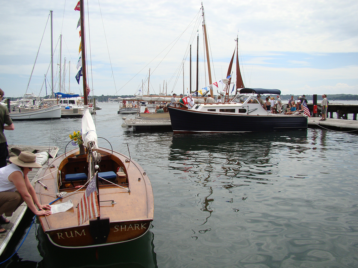 August free things: antique & classic boat show in salem