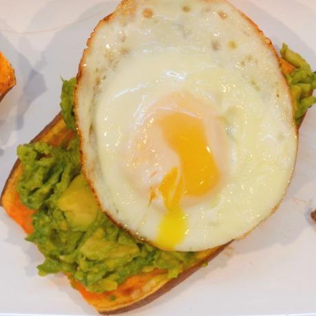 avocado toast square