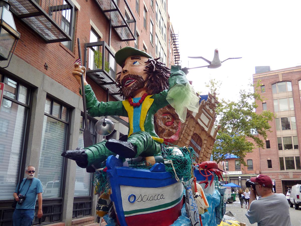 August free things: boston fisherman's festival north end