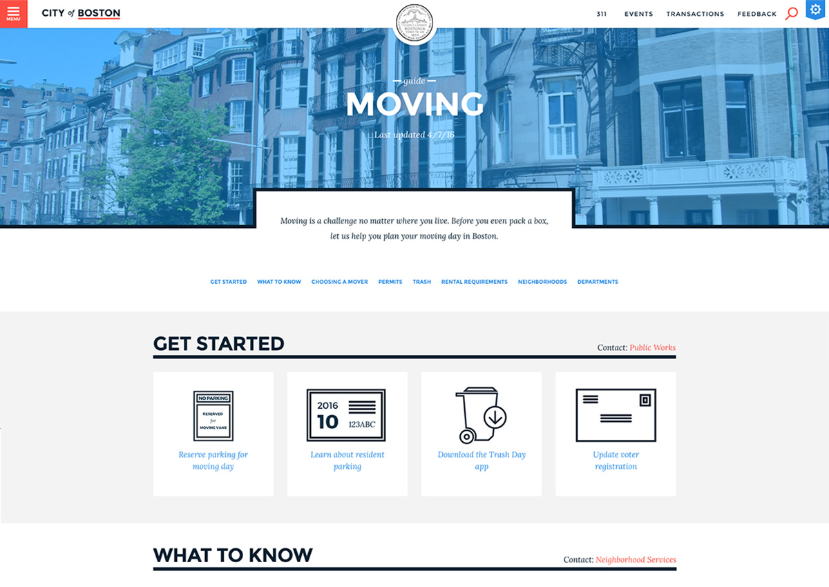 boston.gov moving to boston website redesign