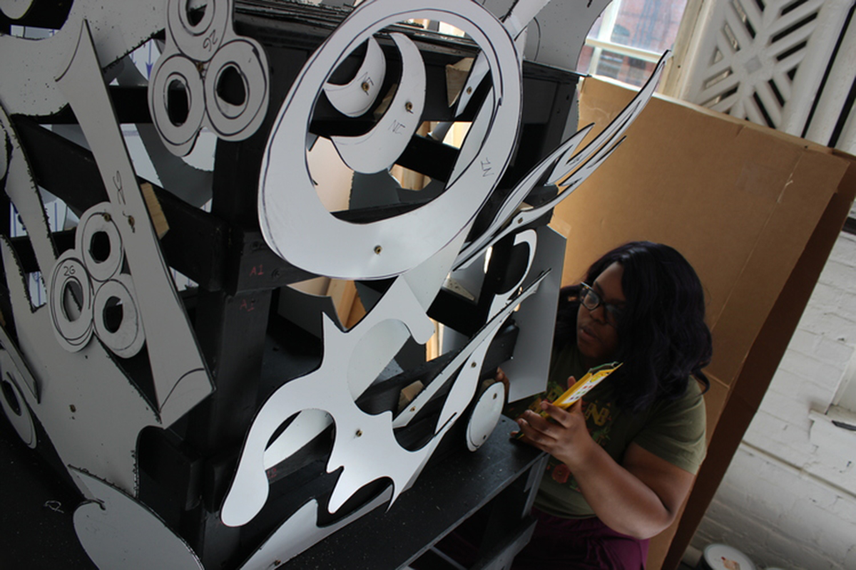 chanel thervil works on attaching symbols to emergence