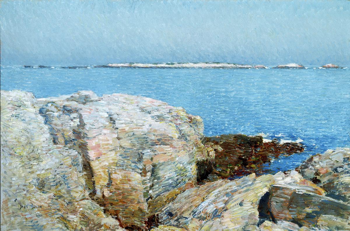 Childe Hassam Duck Island 1906 Peabody Essex Museum