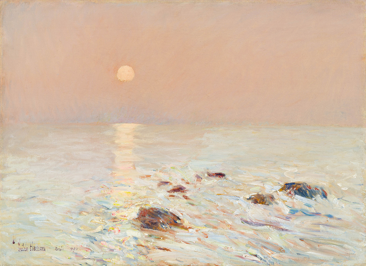 Childe Hassam Morning Isles of Shoals 1890 Peabody Essex Museum