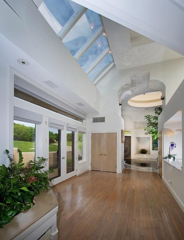 on the market: a contemporary castle in north andover