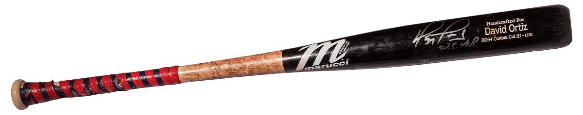 david ortiz oral history baseball bat