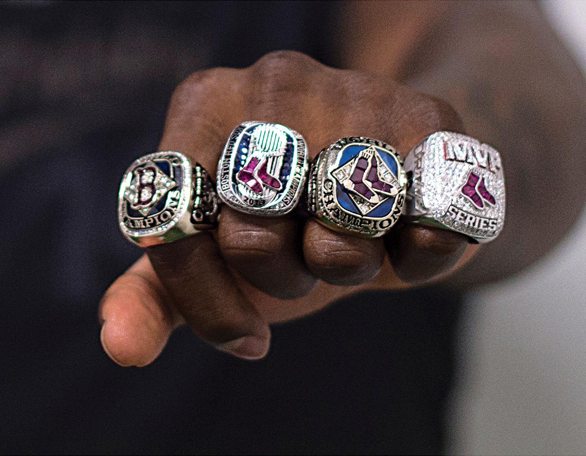 david ortiz oral history world series championship rings