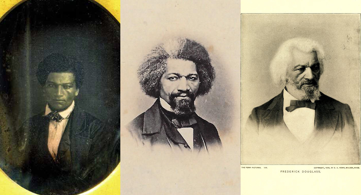 see photos of frederick douglass at the museum of african american