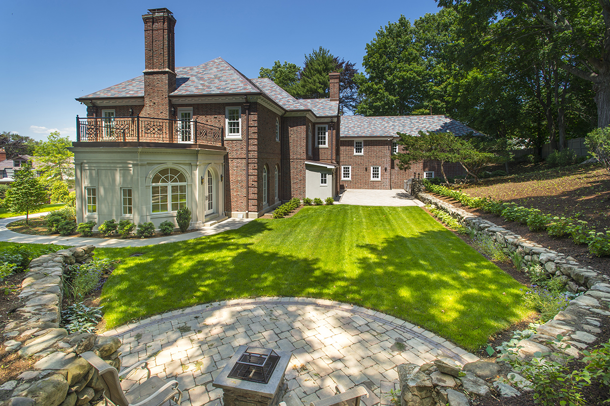 On The Market A Georgian Mansion In Chestnut Hill