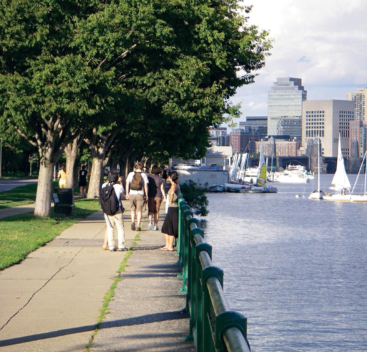 healthy scenic commutes boston 2