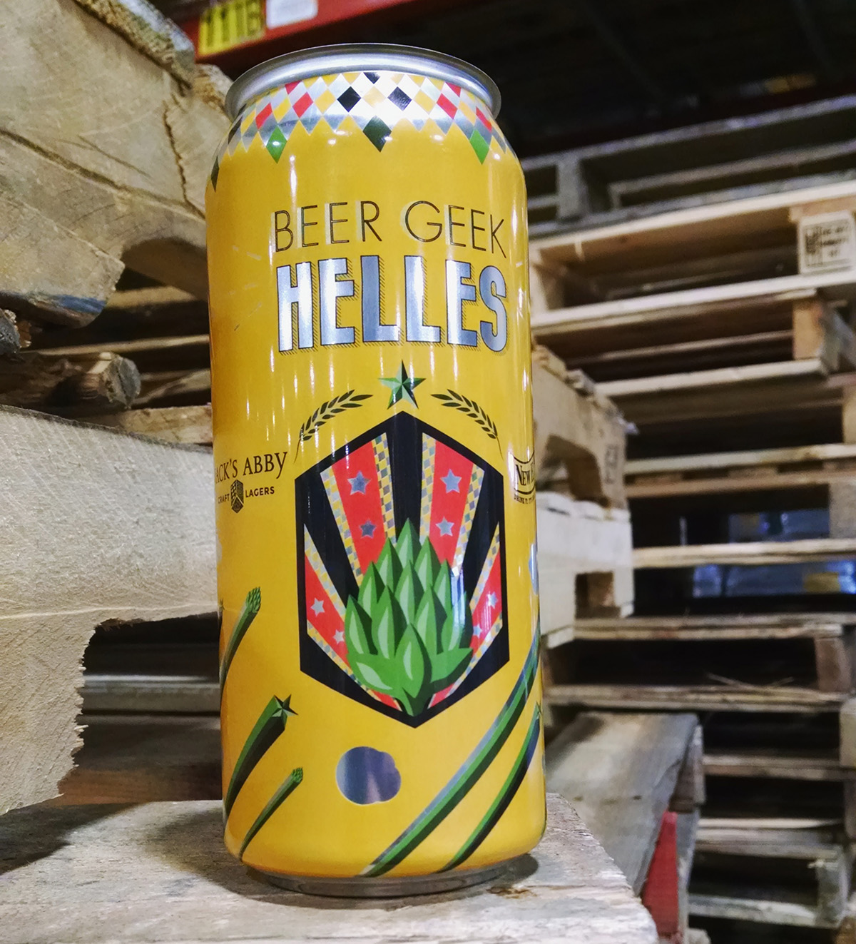 Beer Geek Helles, by Jack's Abby and New England Brewing Company. / Photo provided.