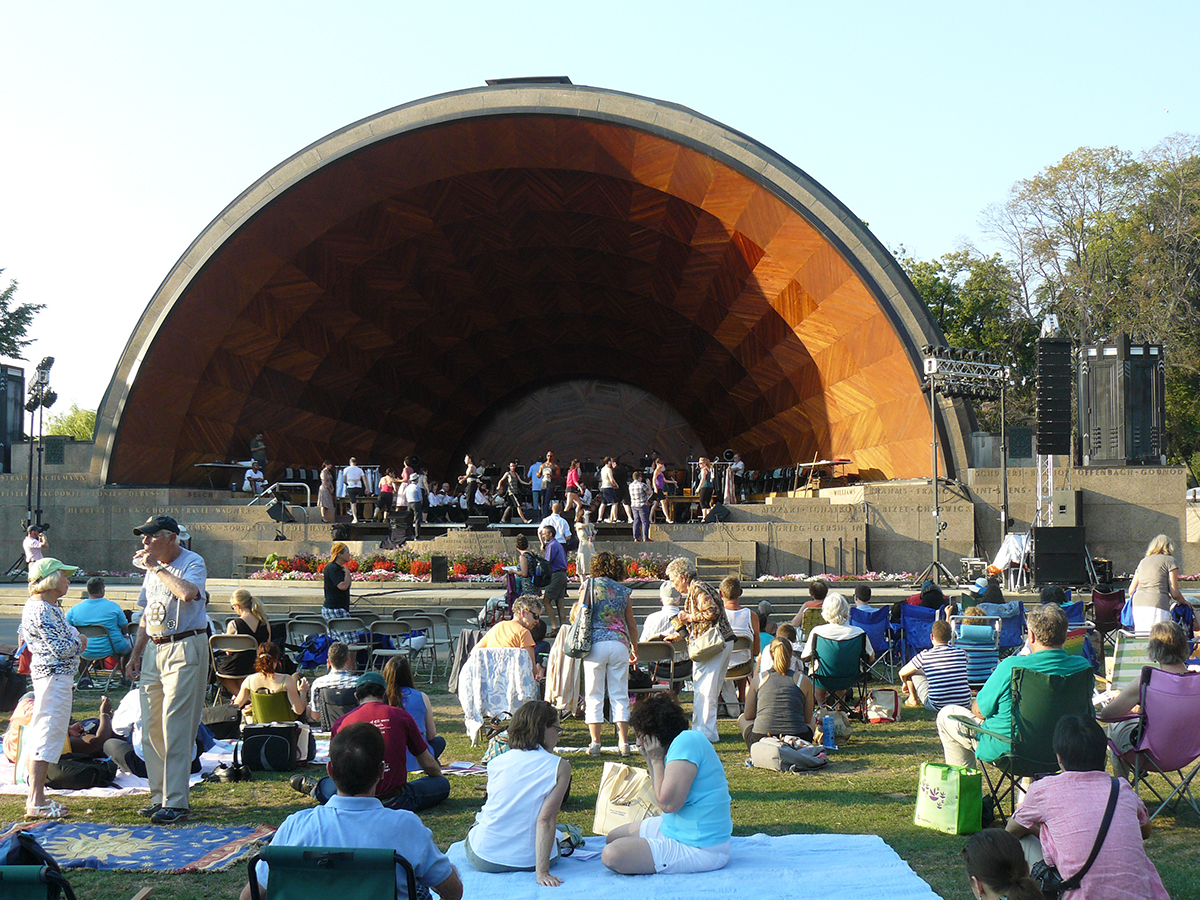 August free things: landmark orchestra at the hatch shell