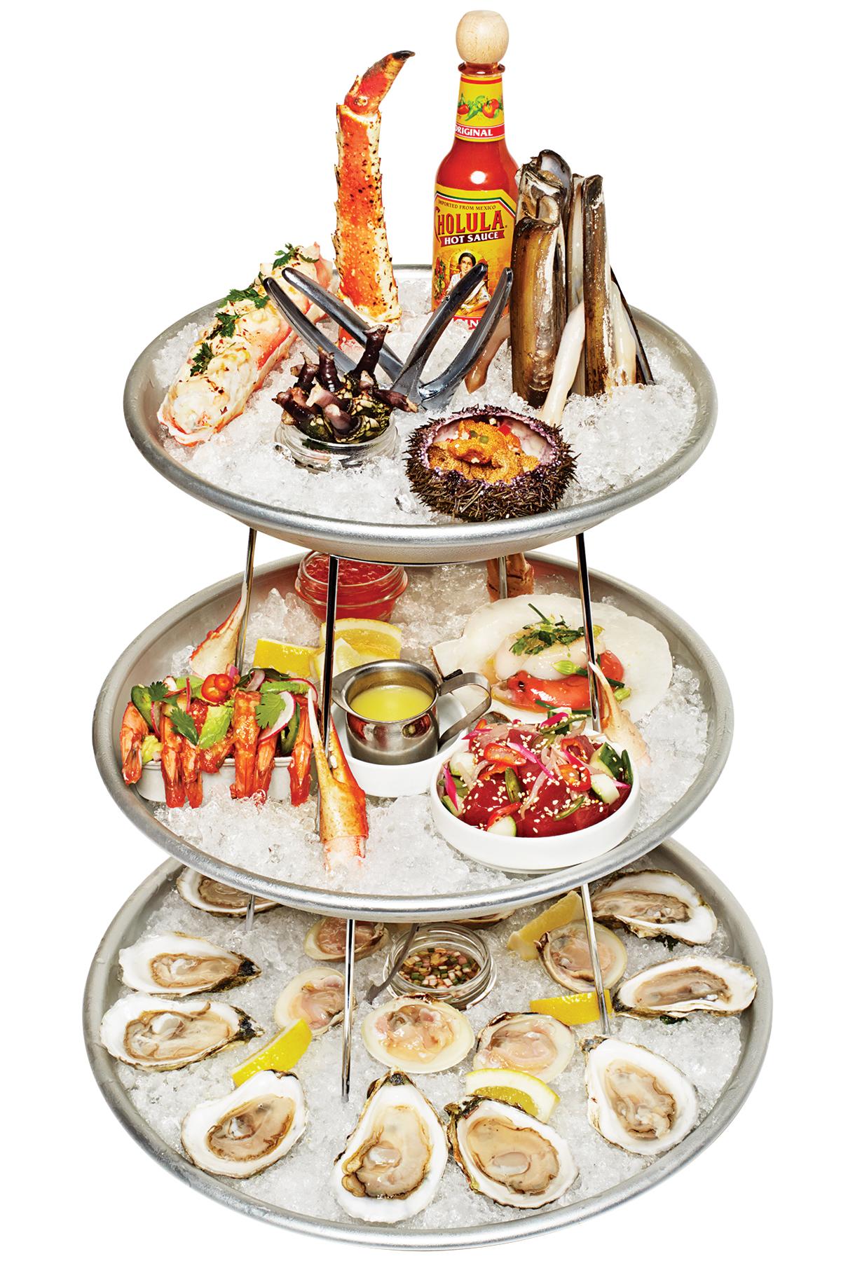 little donkey seafood platter