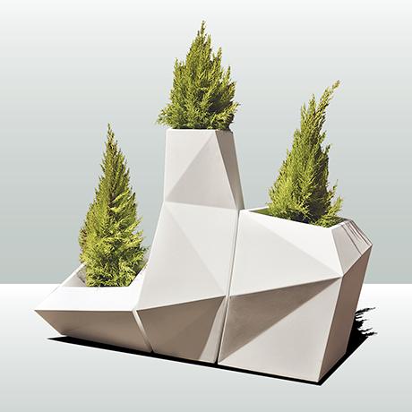 modular planters sq