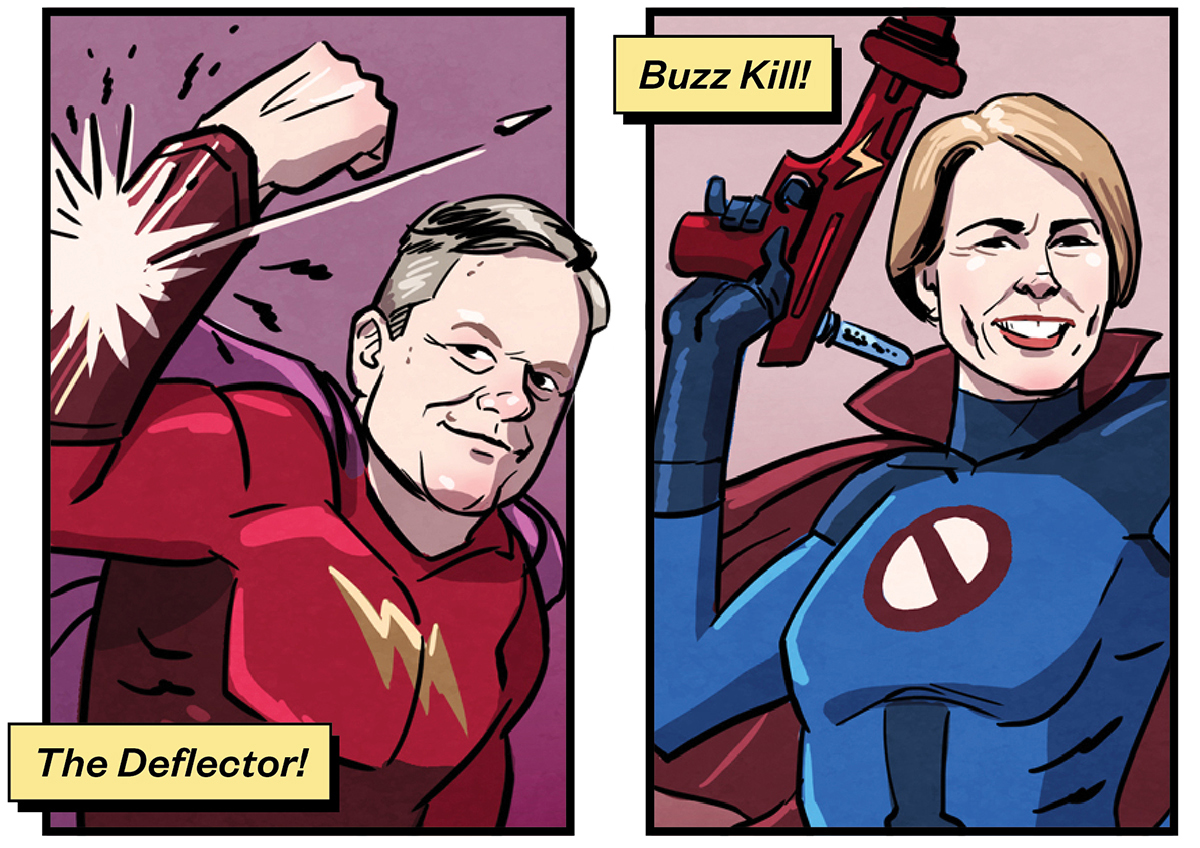 politicians superheroes 1