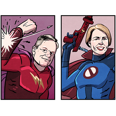 politicians superheroes sq