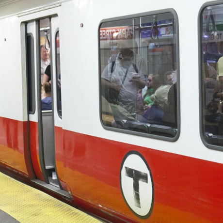 red line square