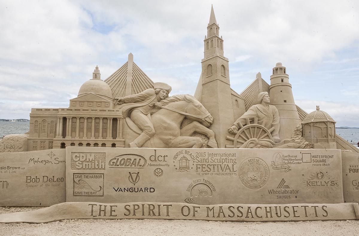 2015 Revere Beach Sand Sculpting Festival / Photo by Olga Khvan