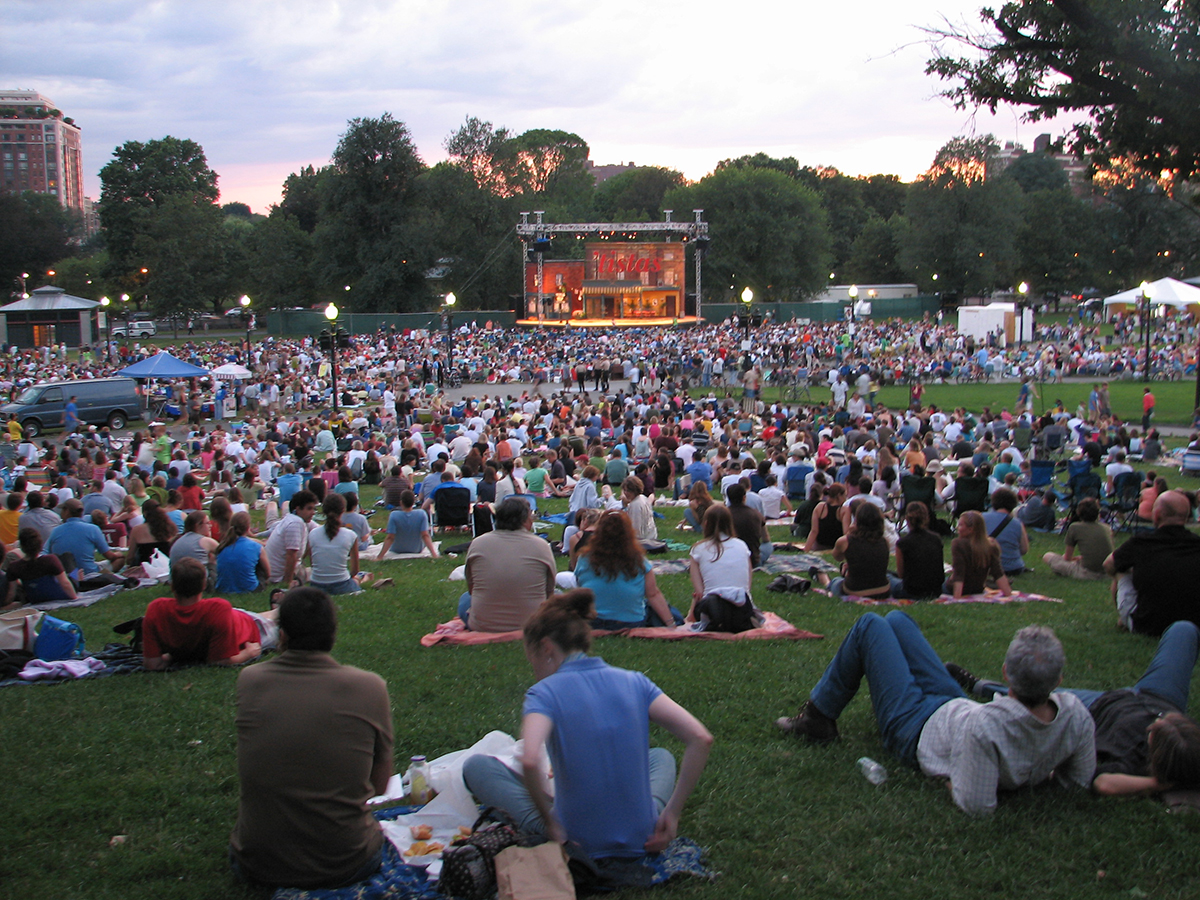 August free things: shakespeare on the common