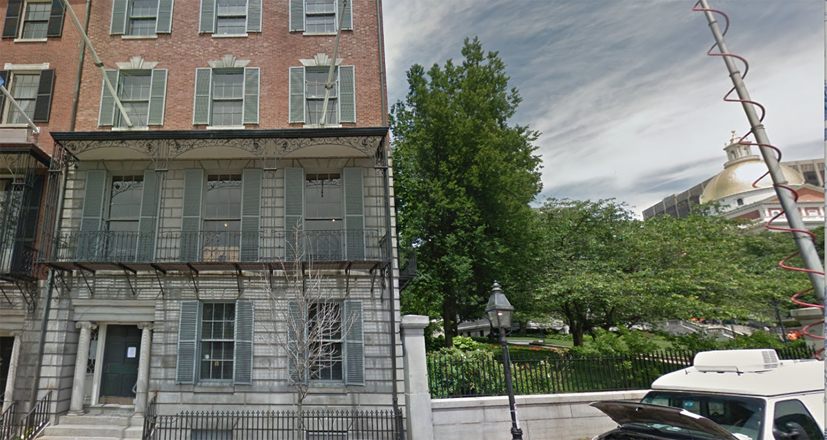 25 Beacon Street in 2015 / Image via Google Maps