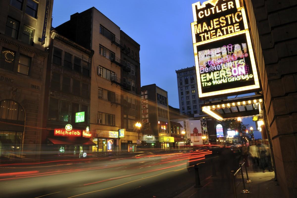 Theatre District in Boston