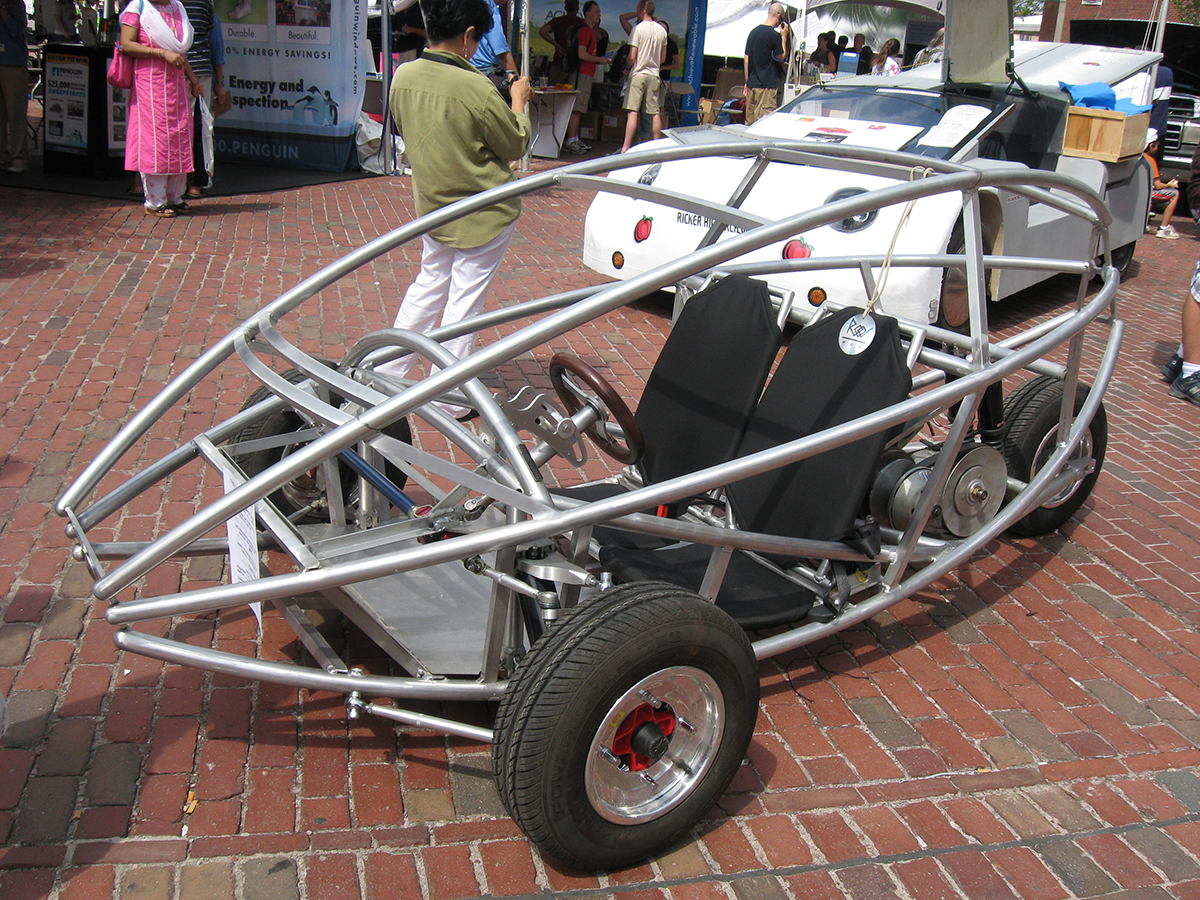 August free things: vehicle at boston greenfest