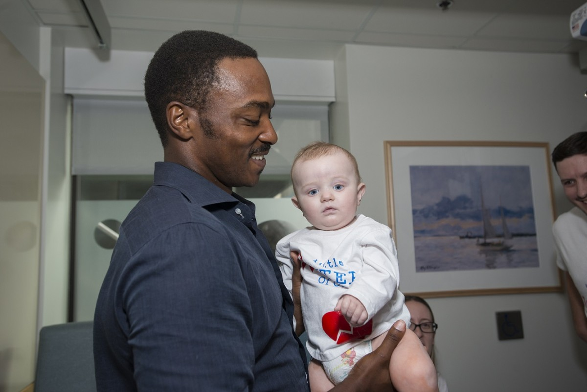Anthony Mackie and Carson Stenson