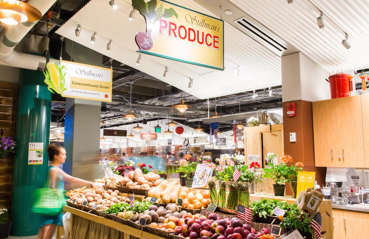 Boston Public Market produce photo provided.