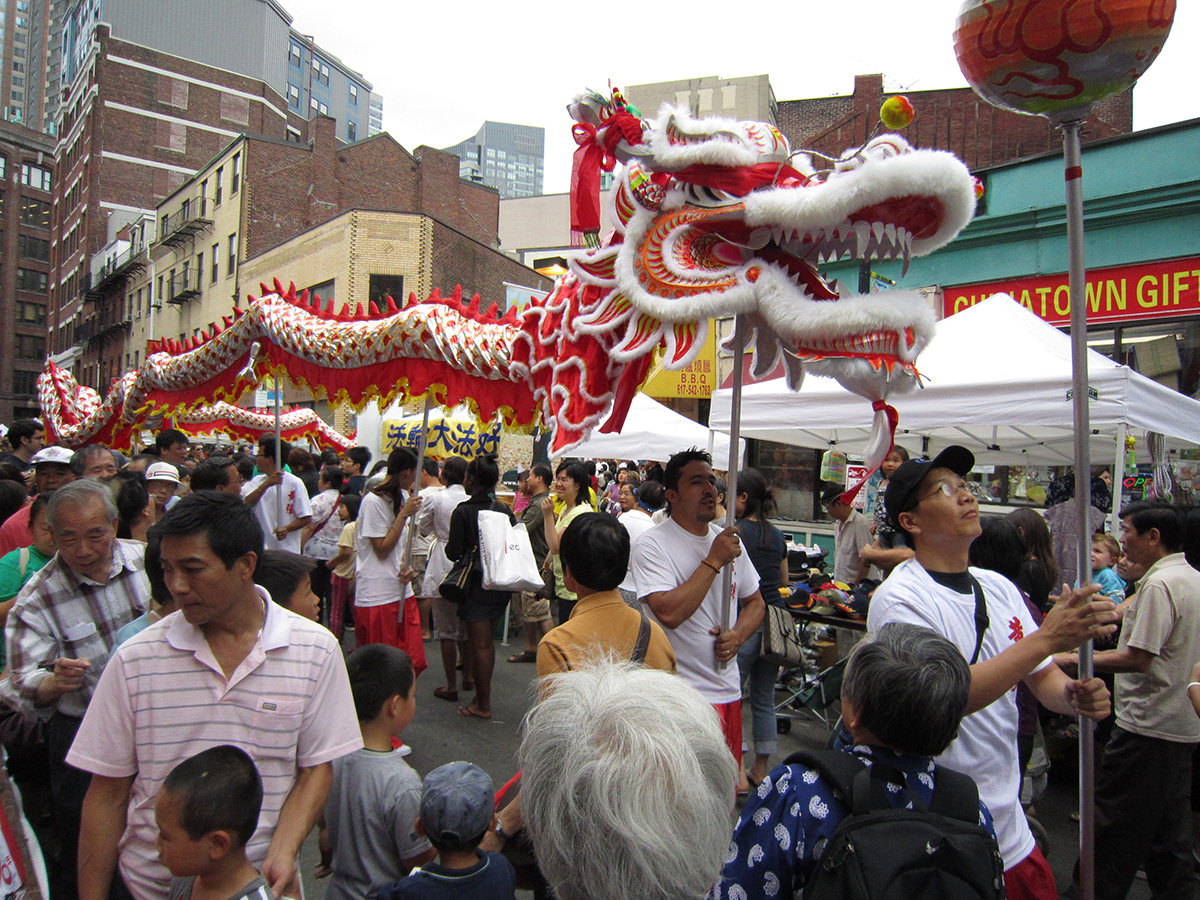 Moon Festival dragon by Danielle Walquist Lynch on Flickr/ Creative Commons