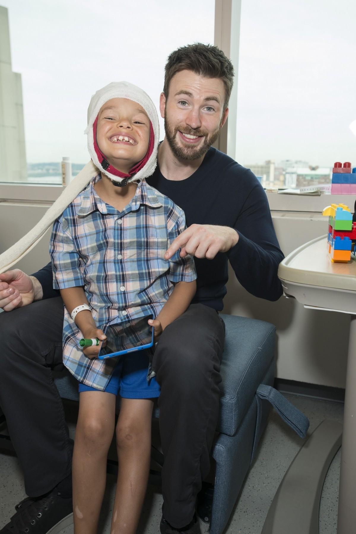 Jude Langstaff and Chris Evans